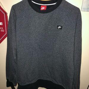 Nike gray black sweatshirt